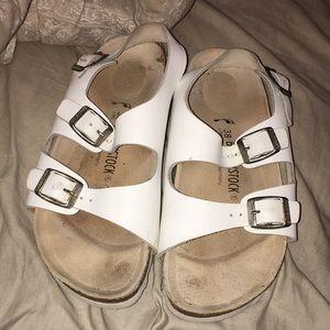 birkenstock strap sandals