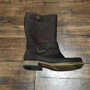 American Eagle mid calf leather boots