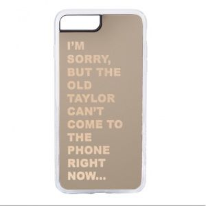 Taylor Swift iPhone 7+/8+ case