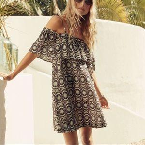 H&M Off the Shoulder Boho Sun Dress