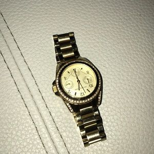 Michael Kors Gold/crystal  Watch