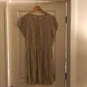Madewell Broadway and Broome Stripe Dress. NWT.