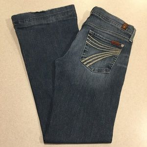 7 For All Mankind Jeans 28X31.5 Dojo New Nolita!