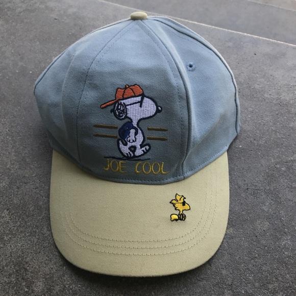 Snoopy Joe Cool Baseball SnapBack Cap. M 5a18e125680278fa5c09dcd6 33c786d804b