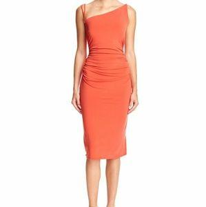 Laundry light burnt orange Strappy back dress