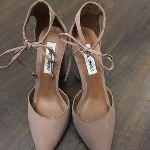 Steve Madden Pamperd Heels - Blush
