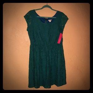 Bluegreen NWT floral lace size XXL dress!