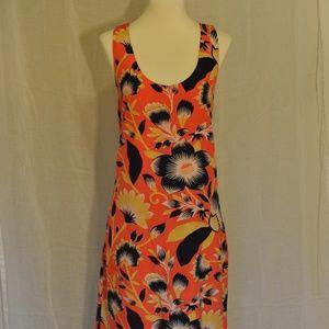 J.Crew Size 8T Tropical Print Shift Dress