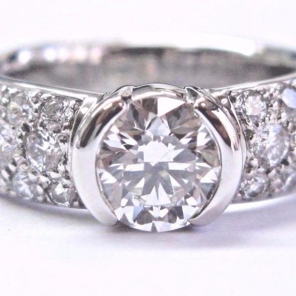 67533a491 Tiffany & Co. Jewelry | Tiffany Co Platinum Etoile Diamond ...