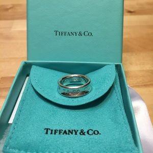 Lightly enjoyed Tiffany & Co. 1837 ring