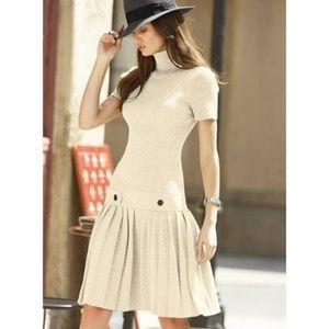 VICTORIA SECRET MODA INTL DROP WAIST SWEATER DRESS
