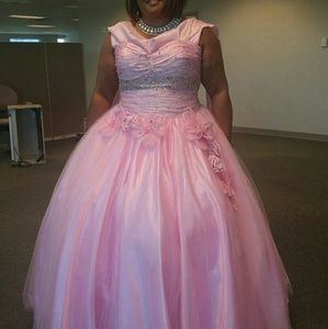 Pink Princess Ball Gown