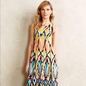 Anthropologie Dahlia Maxi Dress by Floreat Size 8