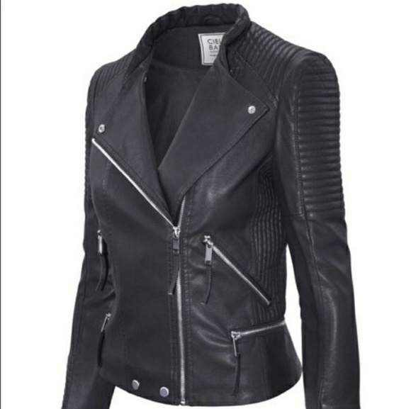 FAUX Leather Jacket Boutique
