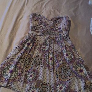 Band of gypsies strapless dress size S