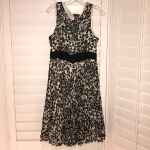 Black and white dress!