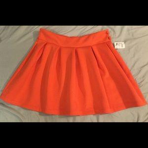 Charlotte Russe Pleated Skirt