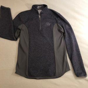 Purple Nike Half Zip Pullover