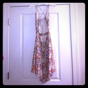 Strappy A-like dress