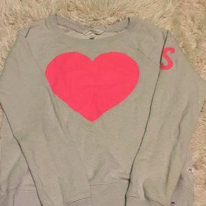 Light grey VS pullover sweatshirt