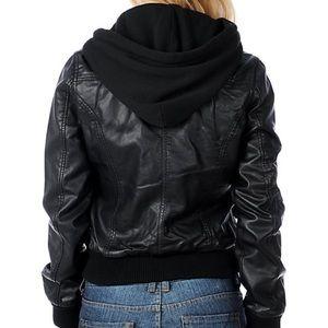 Obey Jealous Lover Bomber Hood Jacket