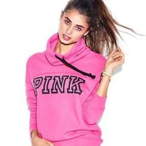 🆕PINK Cowl Neck Pullover