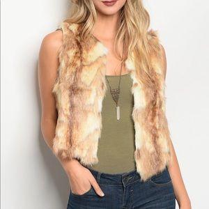 Jenna Fur Vest