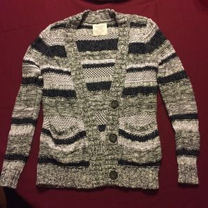 Women's striped Knit Sweater Abercrombie & Fitch