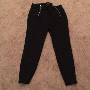 Stretchy black legging pants