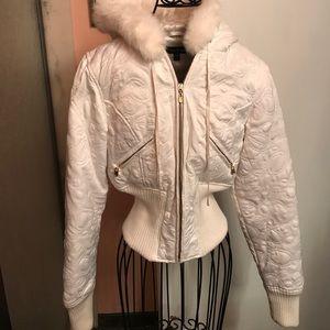 Bebe white Coat