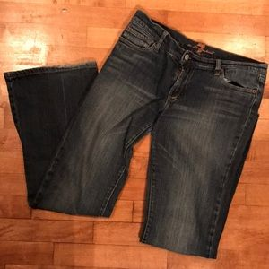 7FAM boot fit denim jeans