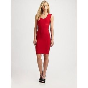 BCBG Makena Red Dress Perfect for the Holidays