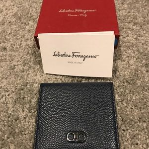 Salvatore Ferragamo Leather Money Holder