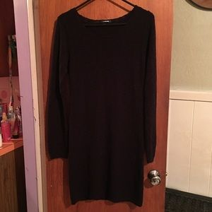 My Michelle black fitted dress sz L