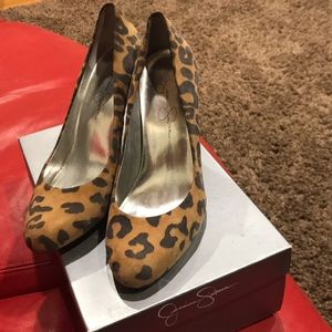 Jessica Simpson Cheetah print shoes