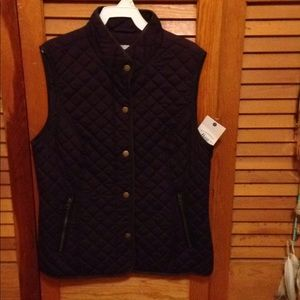 New with tags Women's Bass &Co. quilted vest
