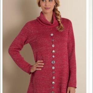 Soft Surroundings Sweater M/L Nordic Nights Tunic