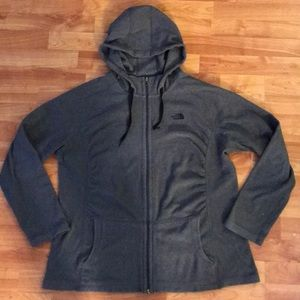 North face size up sweater women's XL