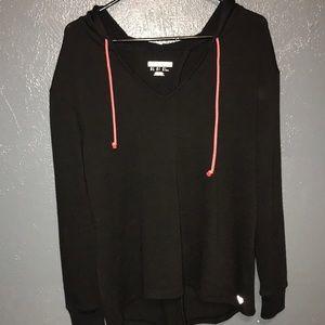 F21 open back sweater