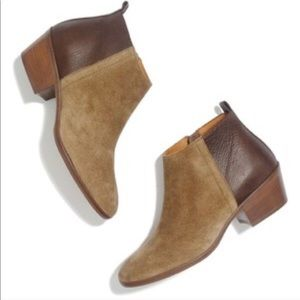 Madewell charley ankle boots