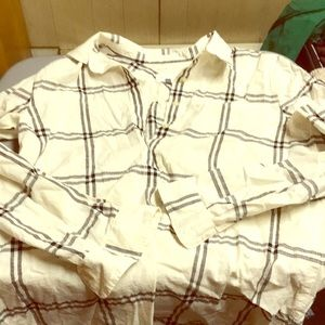 Loft flannel shirt