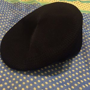 Black kangol tropic 504 ventair hat