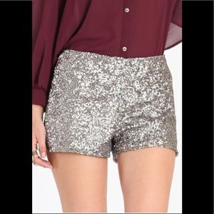 Forever 21 sequin shorts