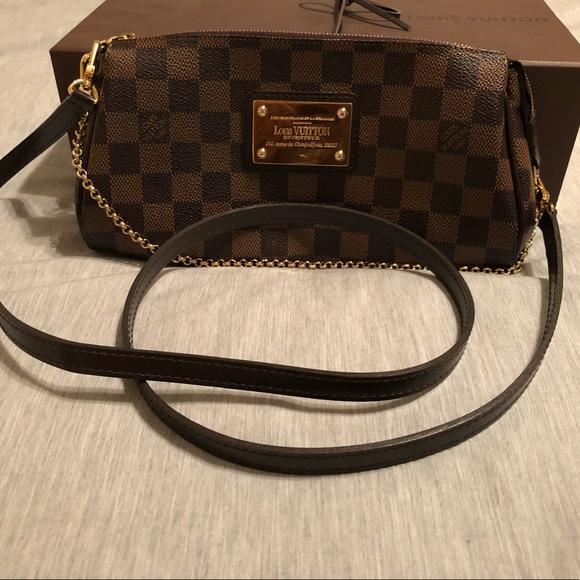 e460e0e7af4b Louis Vuitton Handbags - Louis Vuitton Damien Ebene Eva Clutch