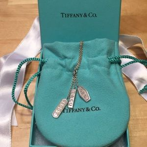 Tiffany & Co. 1837 Dangle Necklace