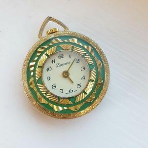Vintage Lucerne Pocket Watch