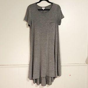 Lularoe Long Grey Dress
