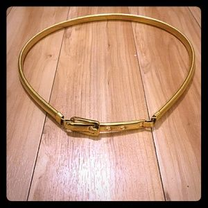 Like New ~ Forever 21 ~ Gold Waist Cinch Belt