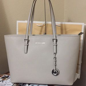 Brand New Michael Kors Cement Tote