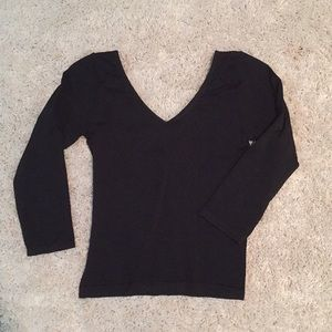 Bebe 3/4 sleeve top